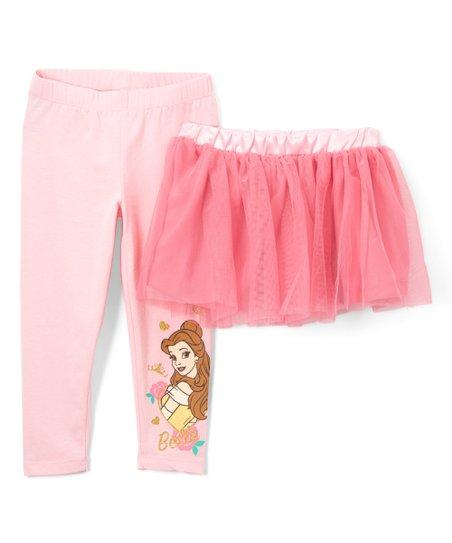 d65ebbf12a3e3 love this product Pink Princess Belle Tutu & Leggings - Toddler & Girls