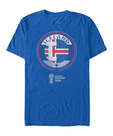 8f9ca6ba2 Fifth Sun Iceland National Team Contrast Round Tee - Men | Zulily