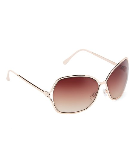 8625c7b28aab7 love this product White   Gold Oversize Sunglasses