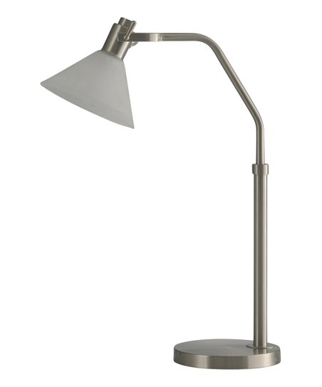 Brushed Steel Frosted Glass Table Lamp Zulily
