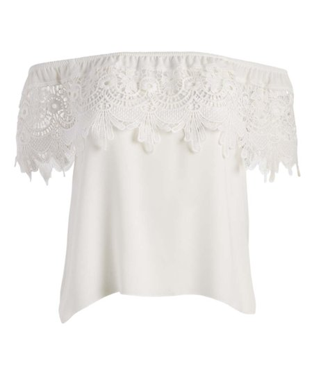 Ivory Blouse for Juniors