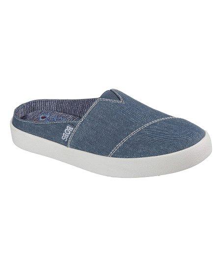 7e6056556217 BOBS from Skechers Dark Navy B-Loved Fly Motion Slip-On Sneaker ...