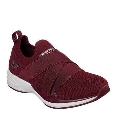 Burgundy Sport Clique Sneaker - Women