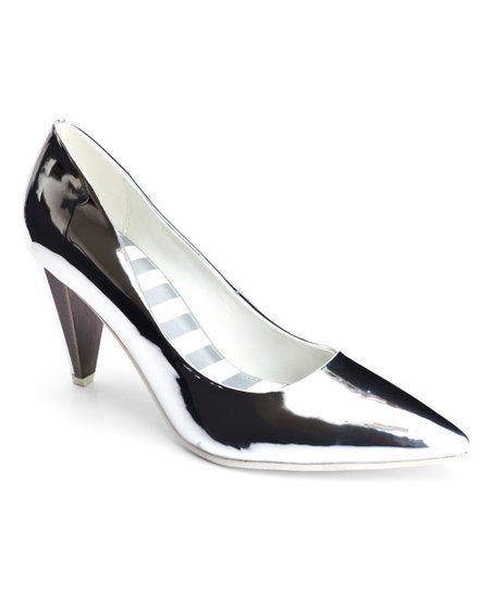 5bc33556a209 love this product Silver Mirror Ramona Pump - Women