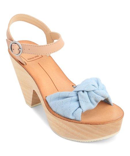 35eed64a0bb Dolce Vita Light Blue Shia Denim Sandal - Women
