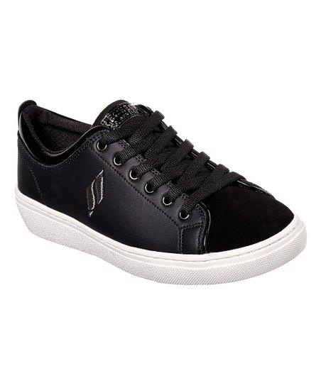 e2610fcf116e Skechers Black Goldie Street Sleak Leather Sneaker - Women