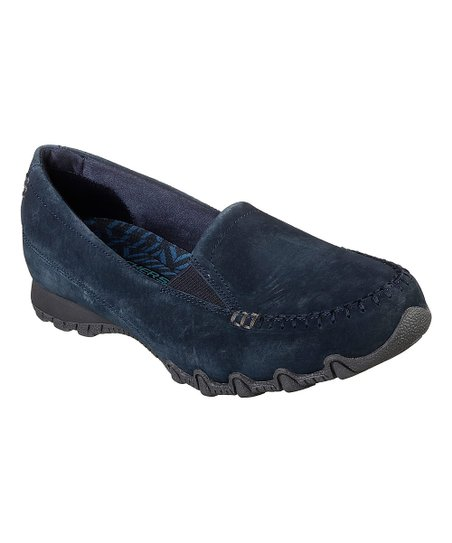 29c7bba02e4 love this product Navy Relaxed Fit Bikers Wayfarer Suede Loafer - Women