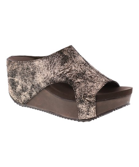 f22ca3ea74a Volatile Bronze Bronx Sandal - Women | Zulily