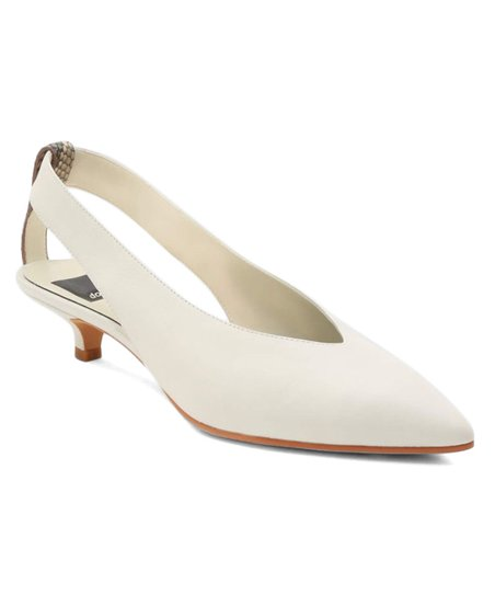 96276a459f78 love this product Off White Orly Leather Kitten-Heel Slingback - Women