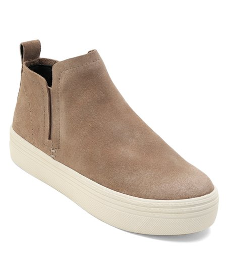 Dolce Vita Taupe Tate Suede Slip-On