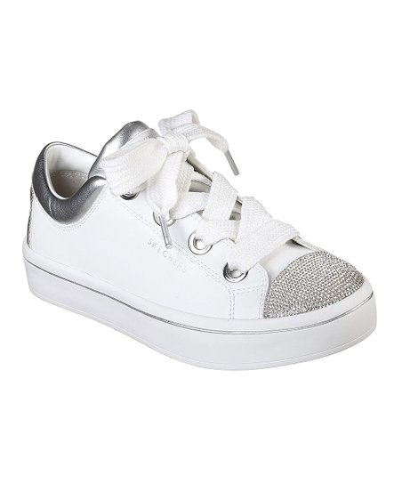 92365fbc180a love this product White   Silver Hi-Lites Space Dancer Leather Sneaker -  Women
