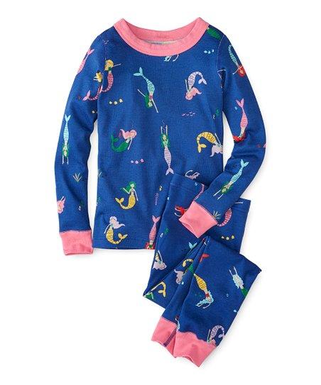 76239cd5ad love this product Mermaids Organic Cotton Long John Pajama Set - Toddler    Girls