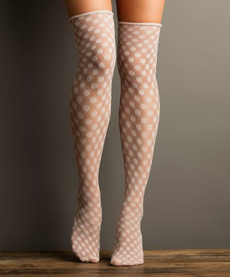 fe86ae9f164 love this product Touch Poetry Lace Over-the-Knee Socks - Women