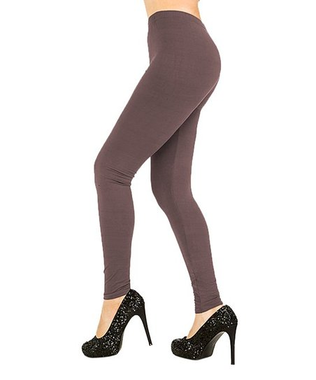 9169f4e5d06219 Juicy Leggings Rosy Brown Leggings - Plus | Zulily
