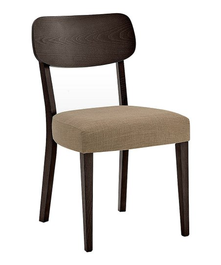 New Spec Furniture Walnut Side Chair Set Of Two Zulily