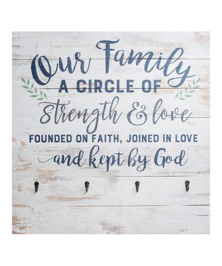 P Graham Dunn Our Family A Circle Of Strength And Love Wall Décor