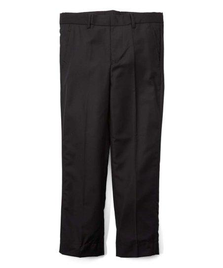 Elie Balleh Black Milano Slim Fit Pants Toddler Boys Zulily