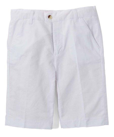 aa506aa1e253 love this product White Bermuda Shorts - Boys