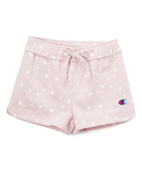 182ca1ce417c Champion Chalk Pink Star French Terry Shorts - Toddler