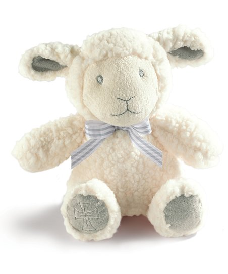 Grasslands Road White Lamb Plush Toy Zulily