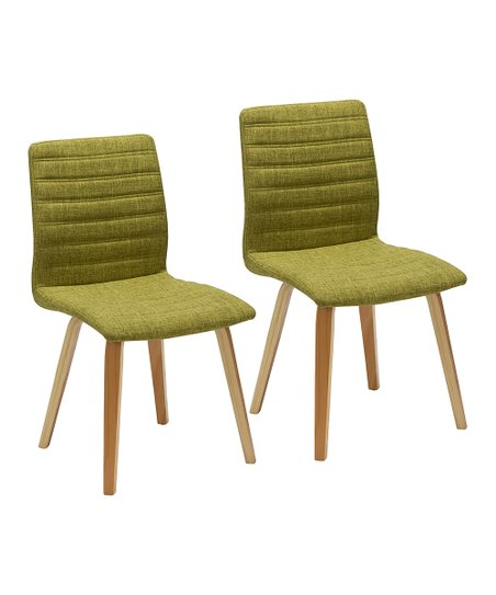 Porthos Home Green Milo Side Chair - Set of Two  1318c072ac