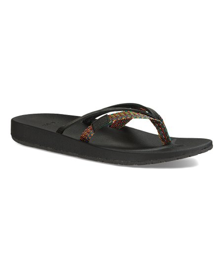 54cf9bbc6 love this product Black Azure 2-Strap Flip-Flop - Women