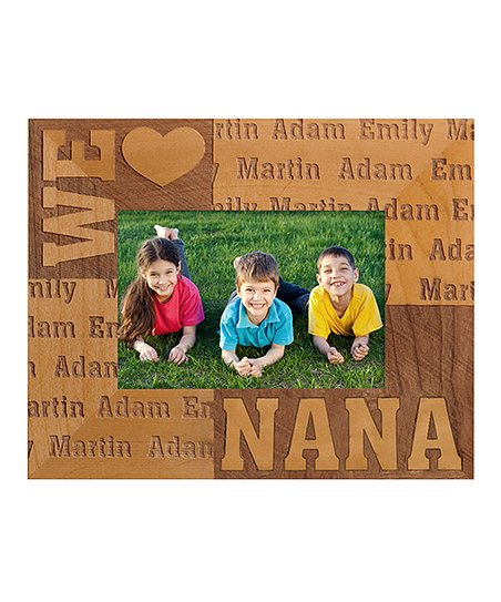 Personal Creations Small We Heart Personalized Horizontal Frame Zulily