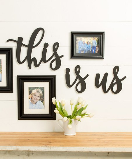 Unfinished Wood Co Unfinished This Is Us Wall Décor Set Zulily