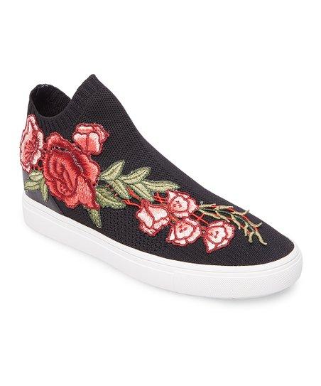 Steve Madden Black \u0026 Coral Floral