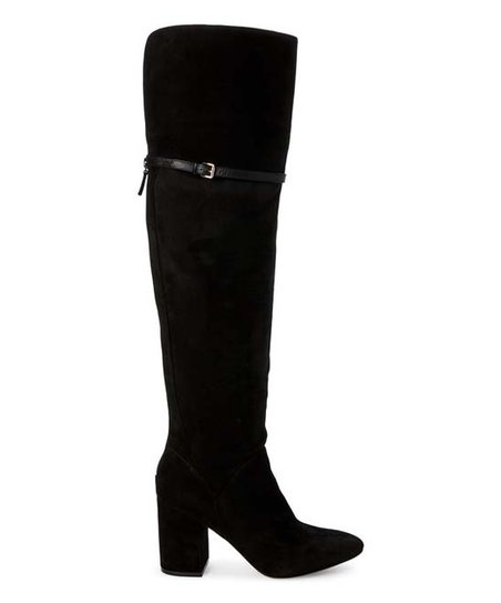 cfc87cb3170 love this product Black Darcia Suede Over-the-Knee Boot - Women