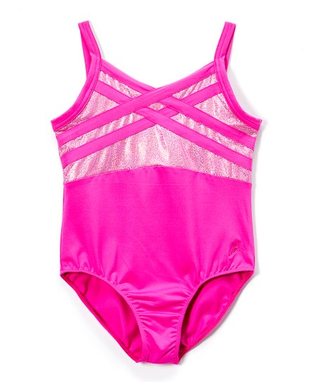 8a23e5310d1f Future Star by Capezio Pink Strappy Leotard - Toddler   Girls