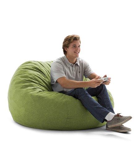 Merveilleux Kiwi Green Big Joe Lux Kids Beanbag Chair