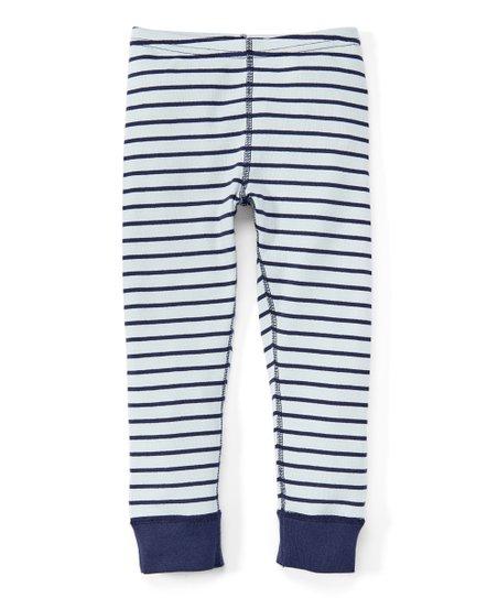 e828471393cf2 Hanna Andersson Navy Stripe Loose Crop Leggings - Girls | Zulily