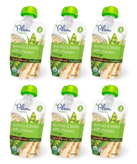 Plum Organics Stage 3 Quinoa Leeks Chicken Organic Baby Food 1