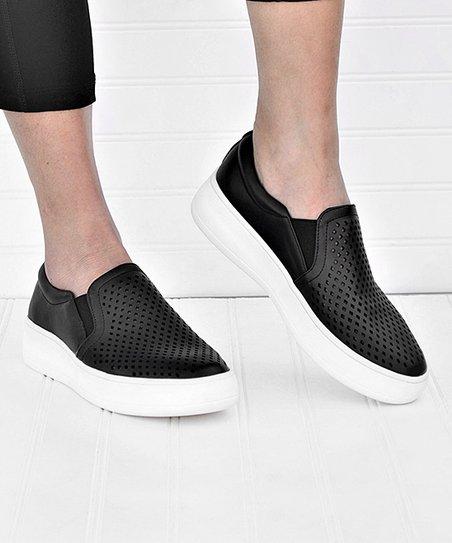 Perforated Slip-On Sneaker - Women