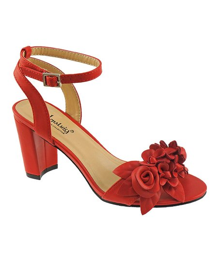 5926886c4dd love this product Red Floral Amber Sandal - Women
