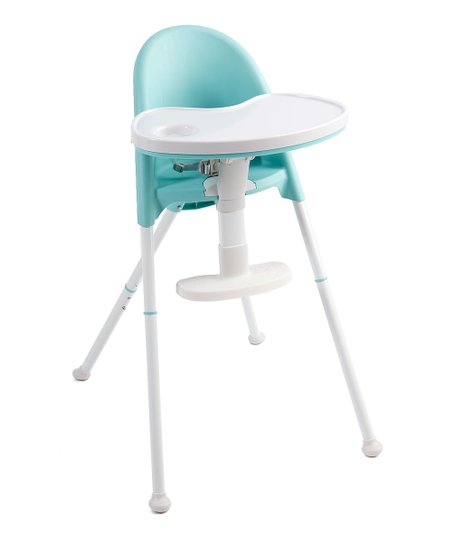 love this product Teal   White Cozy Tot Deluxe Convertible Folding High  Chair 612b5cd012