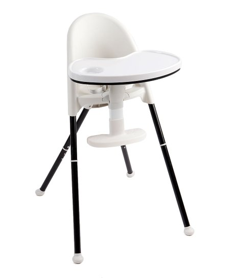 PRIMO Black   White Cozy Tot Deluxe Convertible Folding High Chair ... 77136b8c22