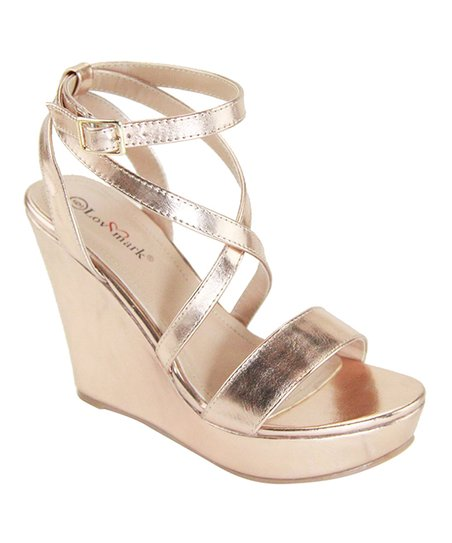 0b91143db6c love this product Rose Gold Baltic Wedge Sandal - Women