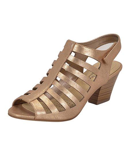 31f2f71e8d3 Cityclassified Comfort Rose Gold Anakin Sandal - Women
