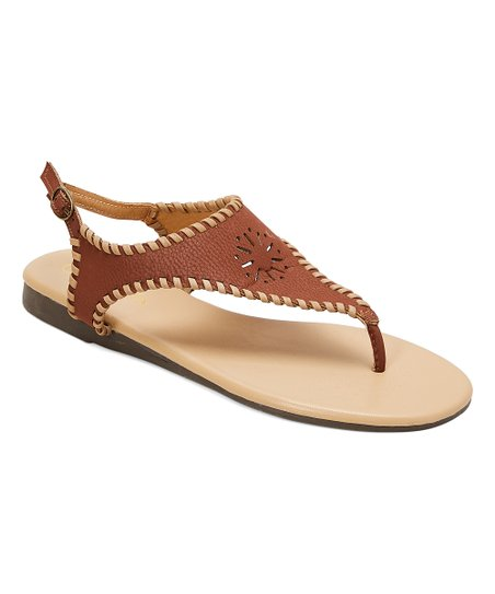 b19b8397ef2e love this product Rust Amanda Lariat Sandal - Women
