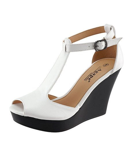 35b14952a434 love this product White Pasadena Wedge Sandal - Women