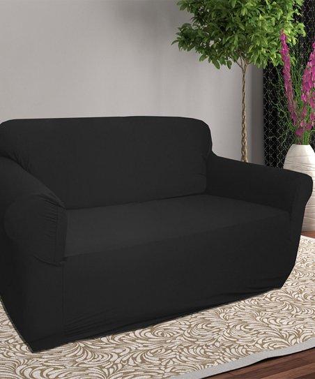 Black Furniture Slipcover