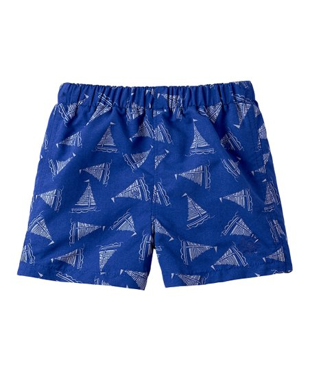 63c3cdc424 love this product Washed Navy Sailboat Boardshorts