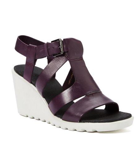 a24dffd5e0ed love this product Mauve Freja Wedge Leather Sandal - Women