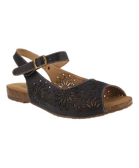 d915880bd LArtiste by Spring Step Black Sheila Leather Sandal - Women