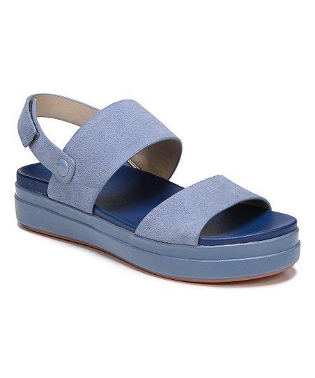 22c4a2e2433 Dr. Scholls Allure Blue Scout Suede Sandal - Women