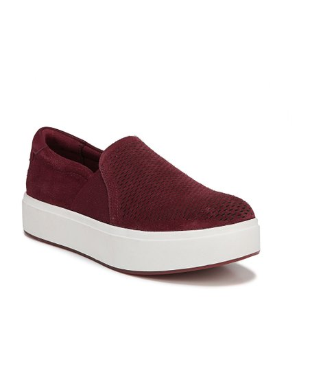 0cfa8dd3dc16a love this product Red Velour Abbot Lux Suede Sneaker - Women