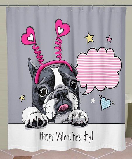 Love This Product Pink Valentines Day Shower Curtain