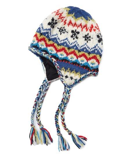 65c890c4b21 Icelandic Design Natural Nordic Wool Earflap Beanie